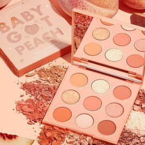 Colourpop Baby Got Peach Eyeshadow Palette NEW